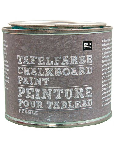 Peinture ardoise Galet (Pebble) Rico Design - Pot 250ml