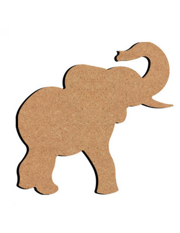 Support bois - Elephant 15cm