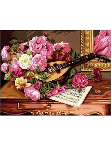 Peinture au numéro Bouquet...