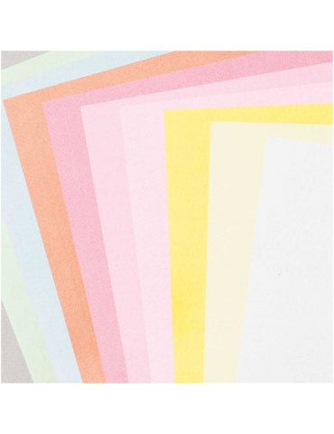 Assortiment Feutrine 1mm Pastel 20x30cm - 10 coupons Rico Design