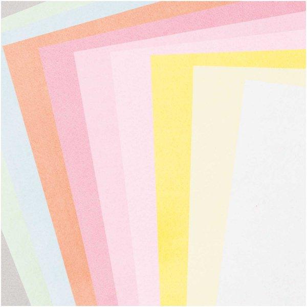 Assortiment Feutrine 1mm Pastel 20x30cm - 10 coupons Rico Design