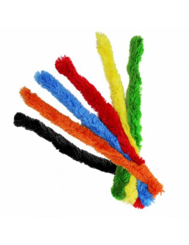 Assortiment 6 Fils cure pipe 20mm Couleurs vives - Ctop
