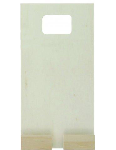 Porte-téléphone en charge - Support en bois à décorer - 100x200x29mm