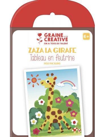 "Kit tableau en feutrine "" Zaza La Girafe"" - Graine Créative - 6 ans+"