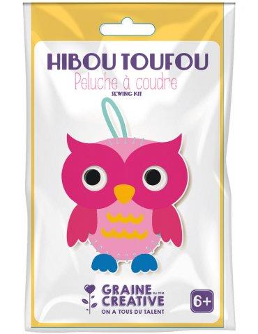 Kit Peluche feutrine à coudre  Hibou - Graine Créative - 6 ans+