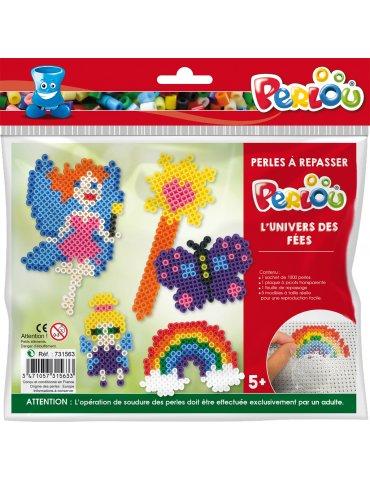 Kit Perles à repasser Fées 5 ans+ - Perlou