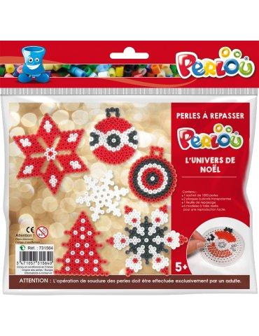Perlou - Kit perles à repasser Noël - 5 ans+