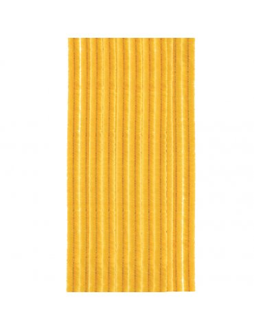 Fils chenille 8mm jaune d'or x10 - Glorex