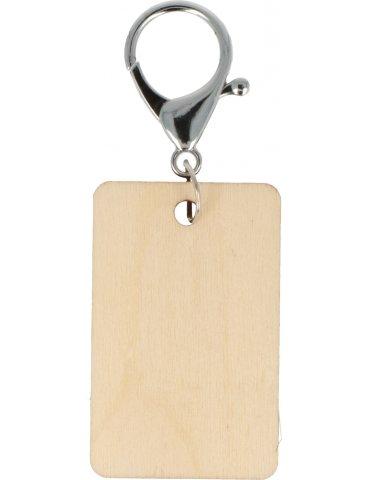 Porte-clés bois à décorer -...