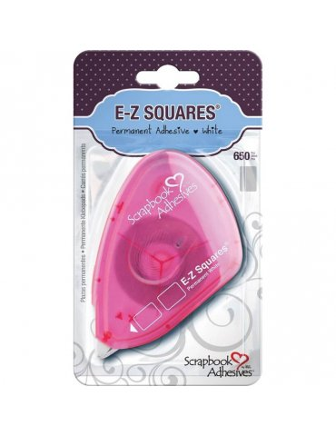 Scrapbook Adhesives - Double face E-Z Squares - Dévidoir rechargeale