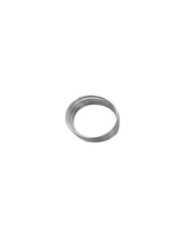 Fil aluminium argent - 1mm