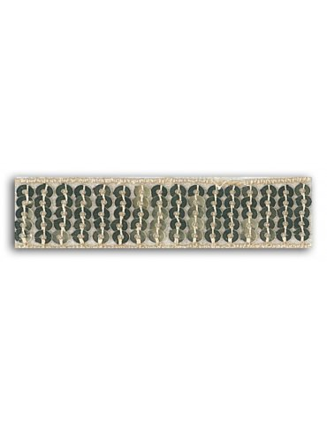 Ruban sequins thermocollant Or (2,4cm x 1,3m) - Mademoiselle Toga