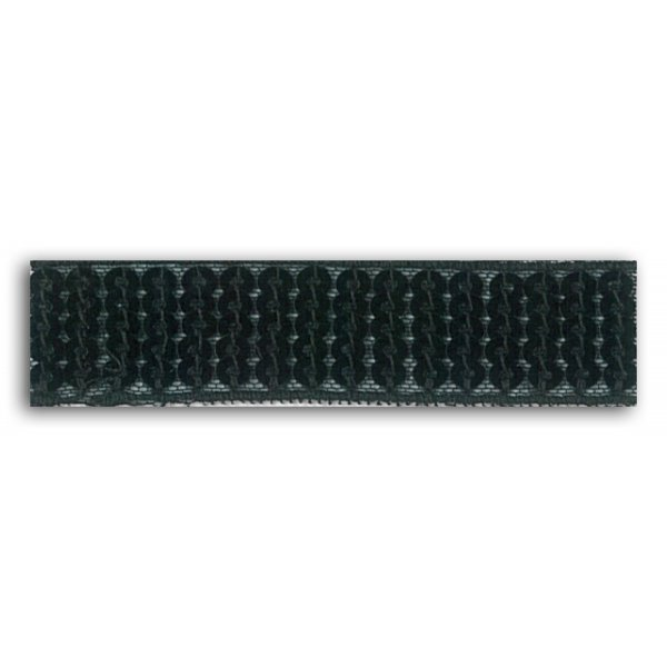 Ruban thermocollant sequins Noir (2,4cm x 1,3m) - Mademoiselle Toga