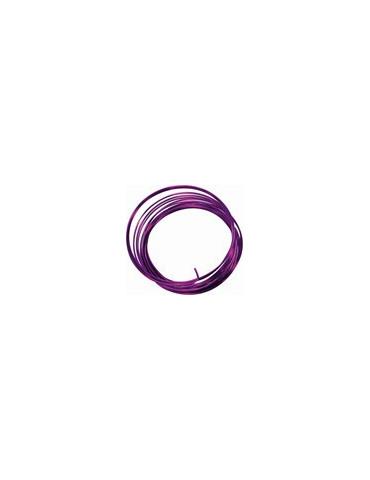 Fil aluminium violet - 2,5mm