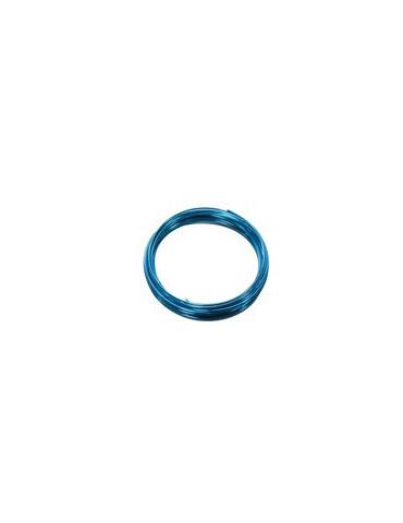 Fil aluminium bleu foncé -...