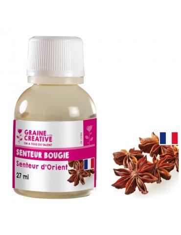 Parfum pour bougies 27ml - Senteur d'orient - Graine Créative