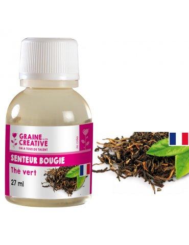 Parfum pour bougies 27ml - Senteur Thé Vert - Graine Créative