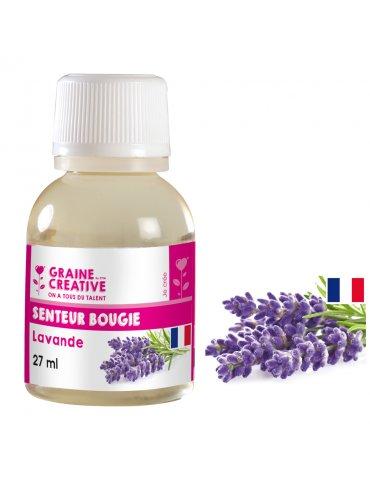 Parfum pour bougies 27ml - Senteur Lavande - Graine Créative