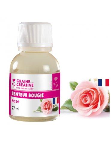 Parfum pour bougies 27ml - Senteur Rose - Graine Créative