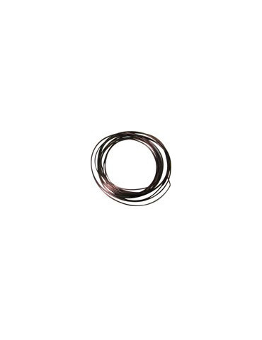 Fil aluminium marron - 2,5mm
