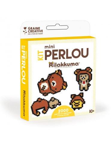Kit DIY mini Perlou Rilakkuma - Graine Créative - 10 ans+