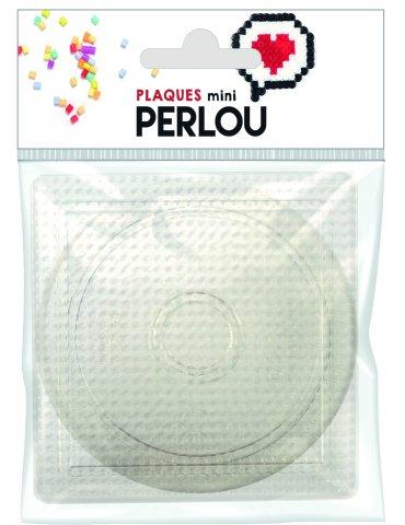 Set 2 plaques pour mini perles à repasser - Perlou