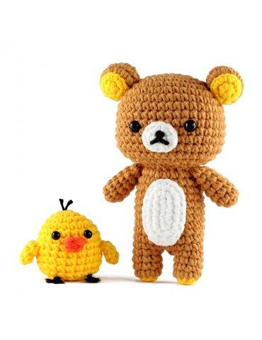 Kit crochet - Rilakkuma