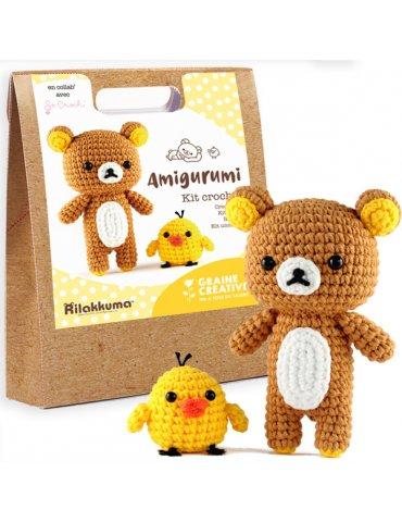 Kit crochet So Croch' - Rilakkuma - Graine Créative