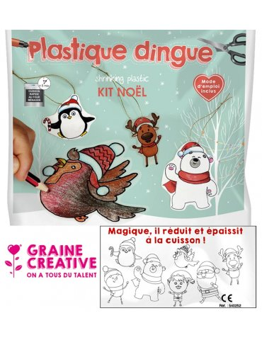 Kit Plastique dingue -...