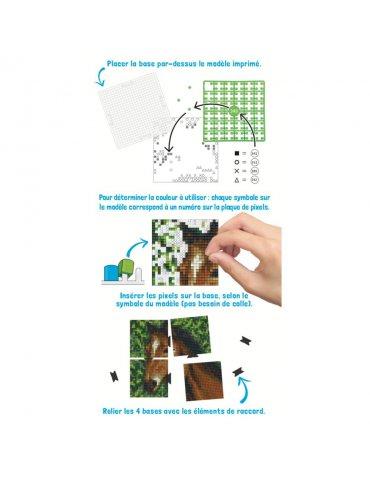 Kit créatif Pixel - Tête de...