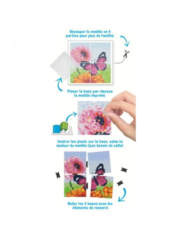 Kit créatif Pixel -...