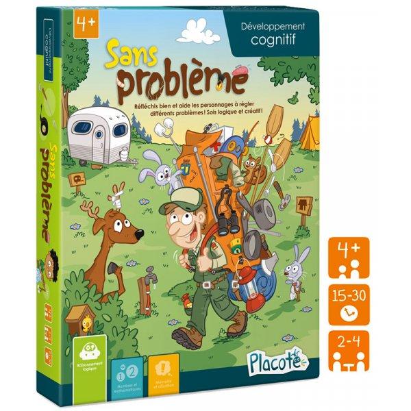 Jeu Placote - Sans Problème - Jeu éducatif cognitif 4 à 9 ans