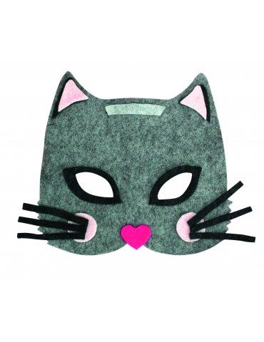 Kit Masque feutrine enfant Chat - Ctop