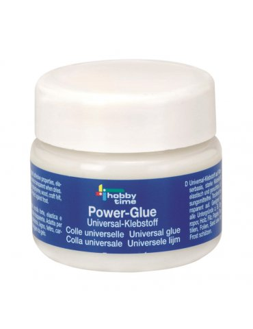 Colle universelle POWER GLUE 150ml - Hobby Time