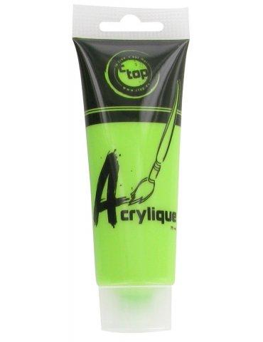 CTOP - Peinture acrylique mate Vert clair - Tube 75ml