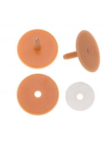 Set Disques articulation pour peluche 55mm - Glorex