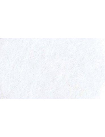 Feutrine A4 blanc - Feutrine polyester 2mm - Graine Créative