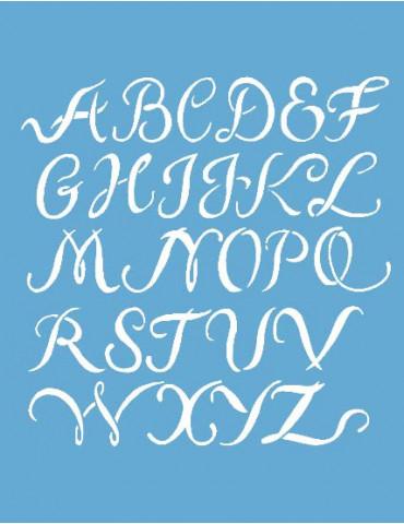 Pochoir Alphabet 20x26cm