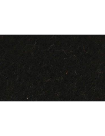 Feutrine A4 - Feutrine polyester 2mm Noir - Graine Créative