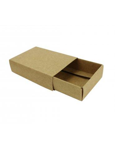Boites cadeau Kraft (boites allumettes vides) - 7x5x2 cm - 4 pièces - Ctop