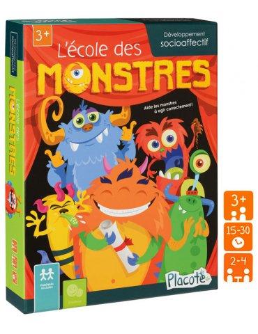 Jeu Placote - L'école des monstres - 3 ans+