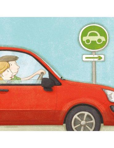 Jeu éducatif - Stationne tes voitures - 3ans+ - Placote