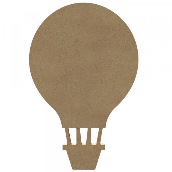 Support medium à décorer - Montgolfière 29cm - Gomille