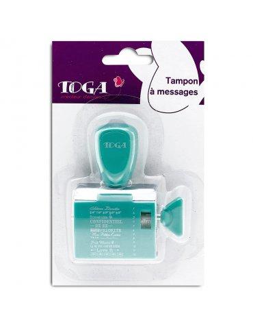 Tampon à molette Toga - Au jour le jour - 12 expressions