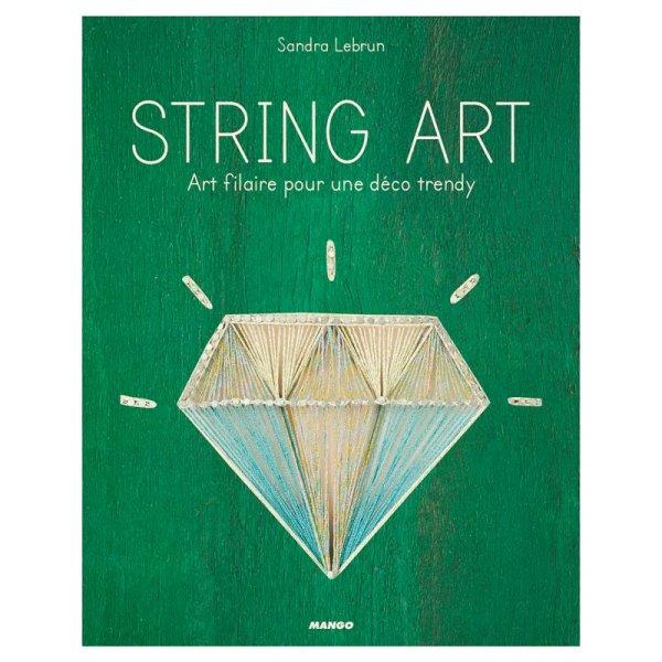 Livre String Art - Art filaire pour une déco Trendy