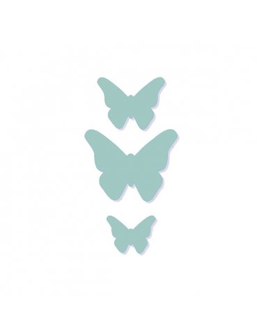 Set 3 Dies Metaliks Papillons - Kesi'art