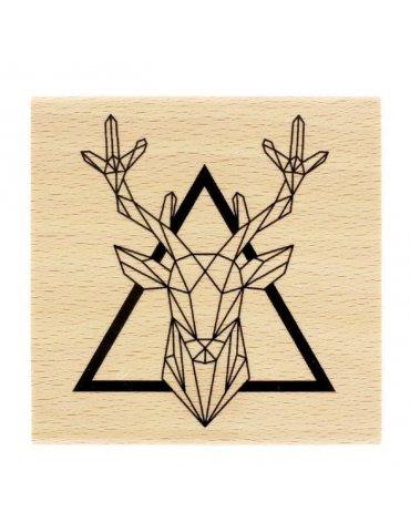 Tampon bois - Roi de la Forêt - Florilèges Design - FF217065