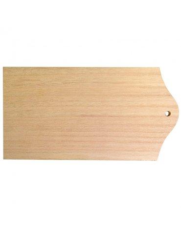 Support bois Artemio - Tartinière 21x11cm - Planche à décorer