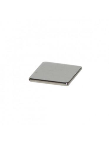 Aimant neodyme carré 10mm Ep.1mm - Blister 10 aimants