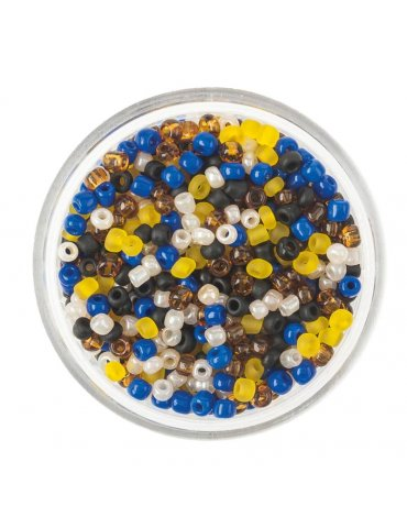 Mix Perles rocaille 2mm -...